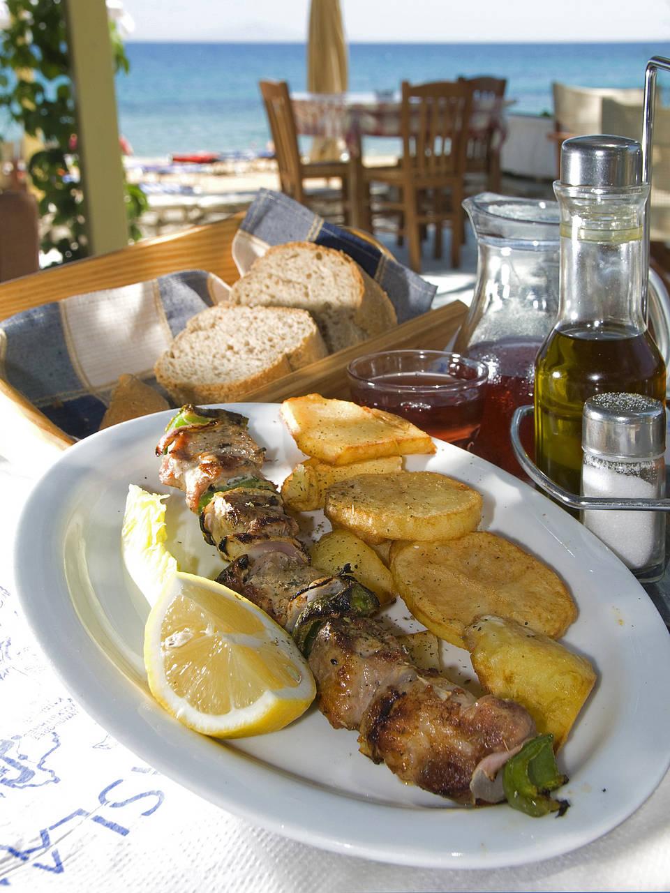 Griechische Küche Fotos - Übersicht der Griechenland Fotos